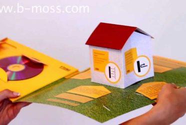 3D House Folder