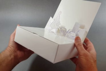 Double Pull Out Box with Design