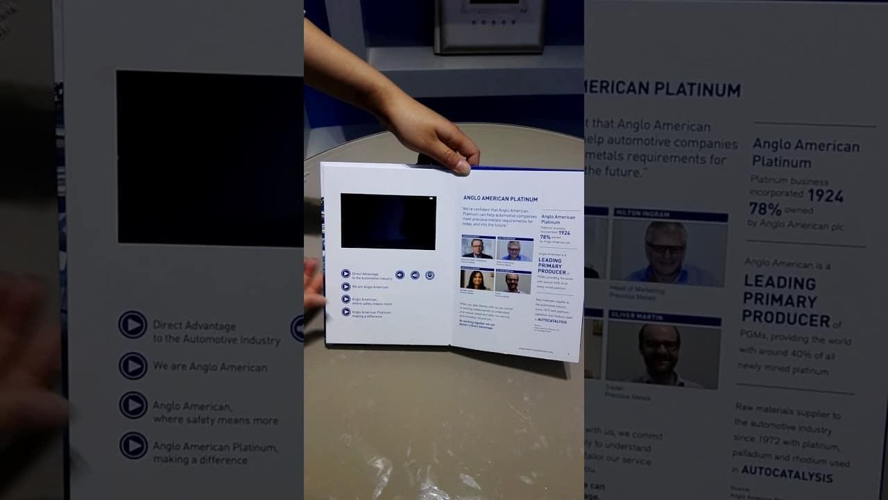 Multi Page Video Brochure