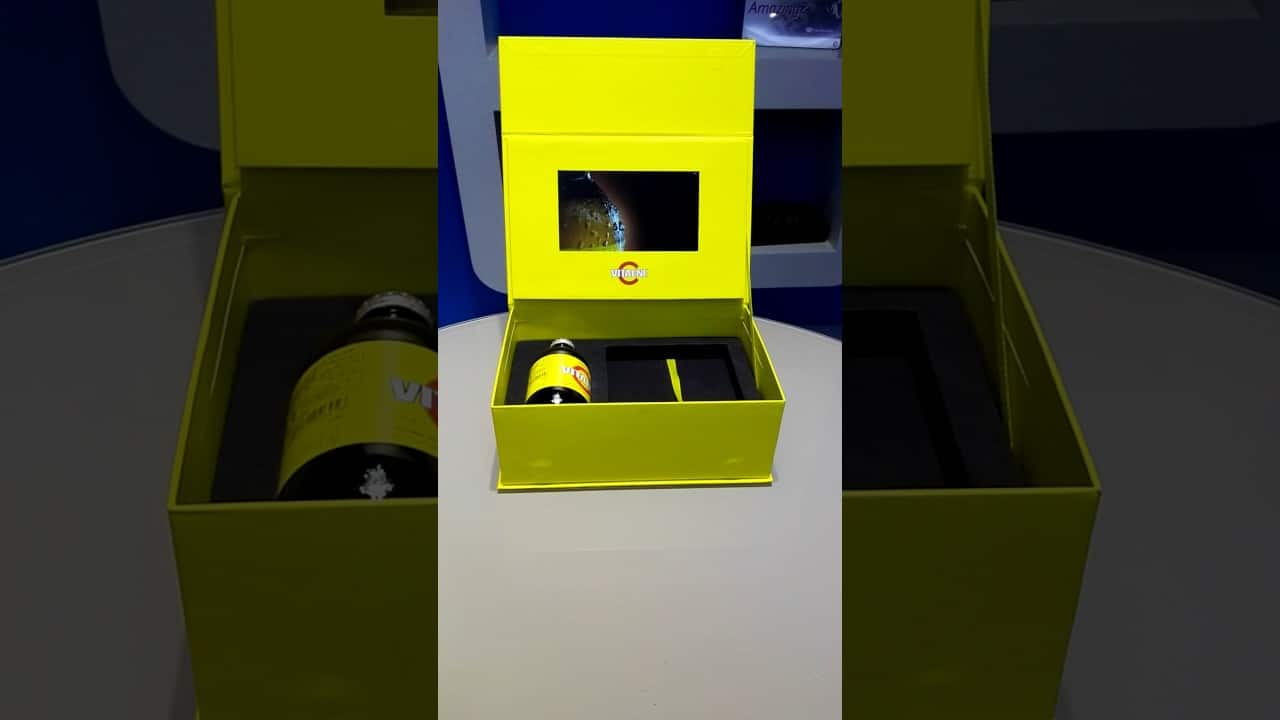 Promotional Product Video Box