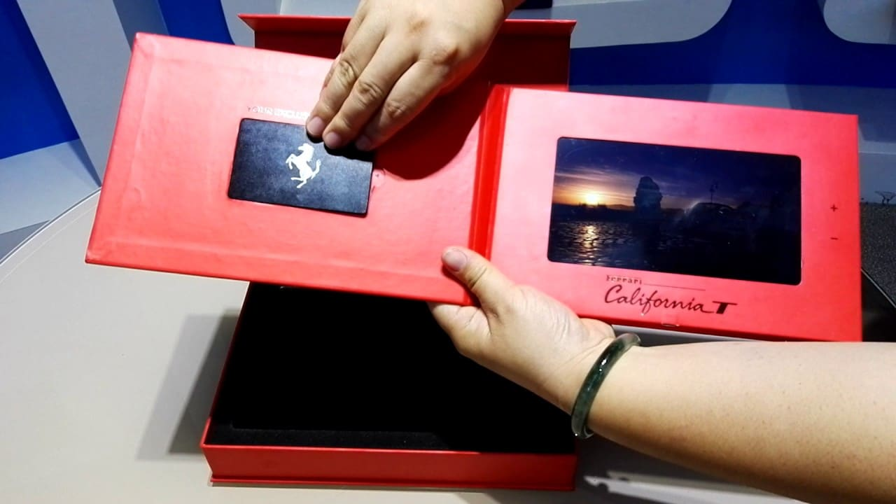 Video Brochure in box