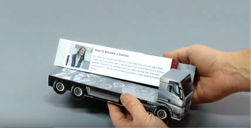 Une innovation Marketing Print pour le secteur automobile